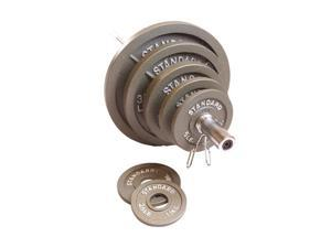CAP Barbell Grey 300 lb Weight Set - OEM