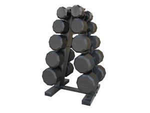 CAP Barbell 150-lb. Eco Dumbbell Weight Set with Rack
