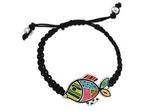 Multi Colored Fish Friendship Bracelet Fashion Jewelry