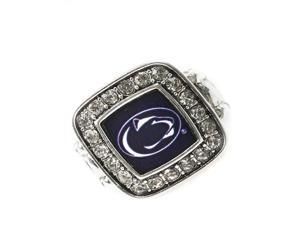 Licensed Penn State Nittany Lions College Team Stretch Fashion Ring