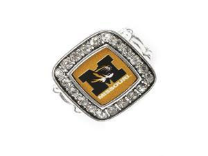 Licensed University of Missouri Tigers College Team Stretch Fashion Ring