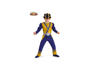 Toddler Muscle Gold Power Ranger Samurai Costume
