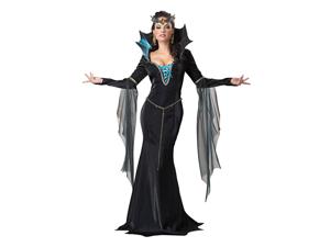 Evil Sorceress Queen Dress Costume Adult