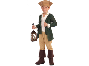 Child Small Paul Revere Costume Forum Novelties 67612