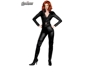 Marvel Black Widow Avengers Deluxe Licensed Adult Women's Halloween Costume