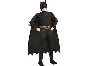 Dark Knight Deluxe Batman Muscle Chest Costume Toddler