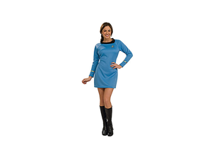Adult Classic Star Trek Blue Dress Rubies 889060