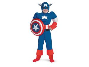 Child Captain America Costume Disguise 5017