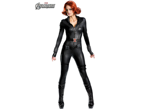 Womens Theatrical Quality Avengers Black Widow Costume