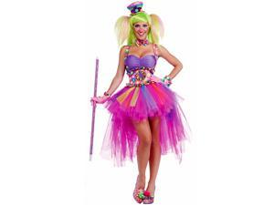 Women's Sexy Tutu Lulu the Clown Costume