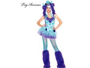 Women's Sexy Polka Dotty Monster Costume