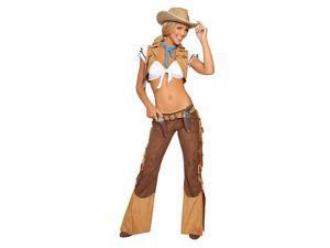 Sexy Sheriff Women's Wild West Costume