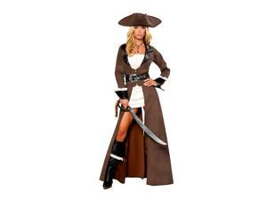 Deluxe Pirate Captain Women's Costume