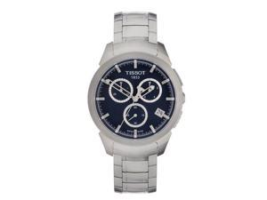 Tissot T-Sport Titanium Chronograph Blue Dial Mens Watch T0694174404100