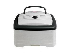 FD80 WHITE FOOD DEHYDRATOR SQUARE AMERICAN HARVEST