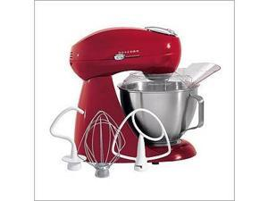Hamilton Beach Eclectrics® Carmine Red All-Metal Stand Mixer 63232