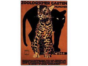 Zoologischer Garten Munchin by Ludwig-16x24 Canvas Art