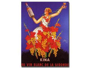 Kina Lillet by Robys-Robert Wolff-Gallery Wrapped 24x32 Canv