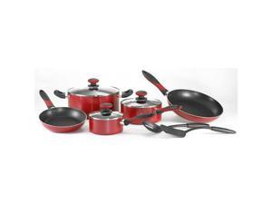 Mirro 10pc Cookset Red