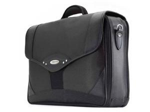 "Mobile Edge Charcoal/Black 17.3"" Premium Briefcase Model MEB17P"