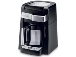 10-Cup Frontal Access Coffee Maker Black