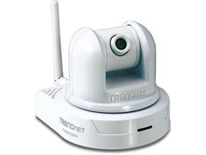 TRENDnet TV-IP410W SecurView Wireless Pan/Tilt/Zoom Internet Camera