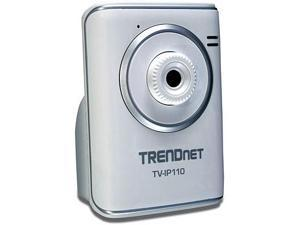 TRENDnet Wired IP Camera with MAX Resolution 640x480 (TV-IP110)