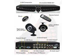 Night Owl Poseidon-85 8 Channel Surveillance DVR