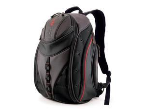 "Mobile Edge Black/Red Express Laptop Backpack - 16"" PC/17"" MacBook Model MEBPE7"