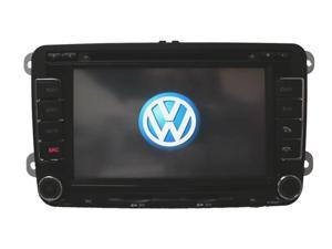 07-10 2007 2008 2009 2010 Volkswagen Jetta In Dash Double Din Touch Screen GPS Navigation Radio S60