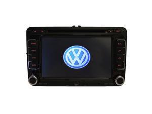 Volkswagen Tiguan 2007-2013 K-Series In-Dash Double-Din GPS Navigation AM/FM Radio CD DVD iPod AUX USB SD