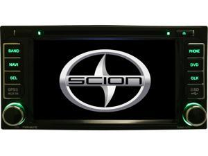 Scion XD 2007-2011 Multimedia Navigation System AM/FM Radio Mp3 iPod CD DVD Aux SD USB GPS w/ Map of North America
