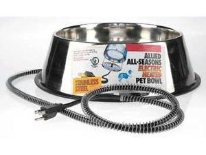 Allied Stainless Steel Heated Dog Dish