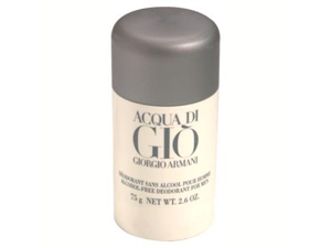 Acqua di Gio by Giorgio Armani 2.6 oz Deodorant Stick Alcohol-Free