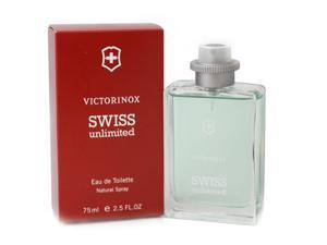 Swiss Unlimited by Swiss Army for Men - 2.5 oz EDT Spray