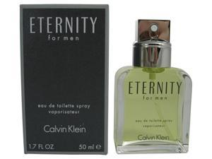Eternity by Calvin Klein for Men - 1.7 oz EDT Spray