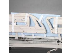 Posey Split Side Rail Protectors, Dimensions: 36''L x 18''H x 1/2'' Thick, Usage: Newer encapsulated Side Rail designs