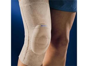 Bauerfeind GenuTrain Knee Support, Loose Circumference in Inches- 18 1/8  - 19 1/4, 5 above knee - 22 - 23 1/4, Color Titanium