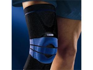 Bauerfeind GenuTrain Knee Support, Loose Circumference in Inches- 133/8 - 145/8, 5 above knee - 173/8 - 181/2 ,Color Titanium