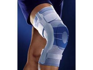 Bauerfeind GenuTrain S Knee Support, Circumferenc4  below-145/8 -153/4 , 5  above - 181/2 - 193/4 (Right), Color Black
