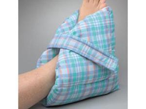 Posey Heel Pillow, Color: Large, pastel plaid, Dimensions: 11 1/2''L x 11''H