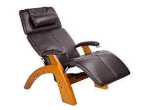 PC-075 Perfect Chair&#0174  Silhouette Zero-Gravity Recliner with Maple Base, Espresso Bonded Leather