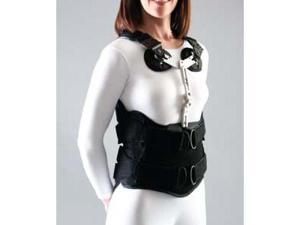 Spinal System: Primo Lite Tlso - 4 Panel, With PPX (Pectoral Pad Kit with Extension Adjustment), MD