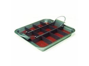 Chicago Metallic Slice Solutions Brownie Pan - 9 x 9 x 2 Inches