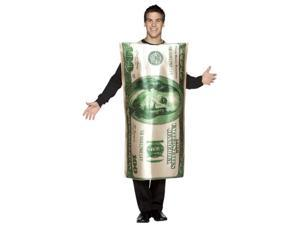 100 Dollar Bill Costume - Adult