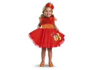 Girls Sesame Street Elmo Dress Infant/Toddler Costume