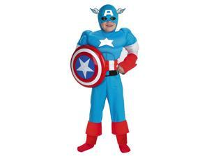 Captain America Muscle Child Halloween Costume
