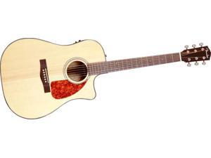 Fender CD280SCE Dreadnought Cutaway Rosewood Acoustic-Electric Guitar, Natural