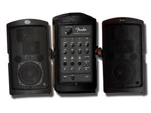 Fender Passport Conference 175 Watts 4-Channel Pro Audio System, Black