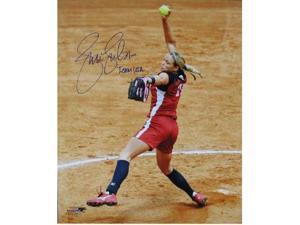 Jennie Finch signed Olympic Team USA 16X20 Photo w/ Team USA